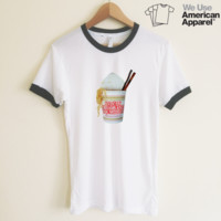 AA Minnie Cup Noodle Ringer Tee