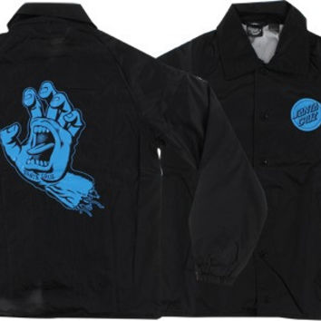 Santa Cruz Hand Windbreaker XLarge Black/Blue