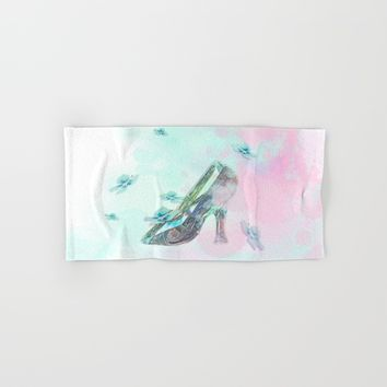 Cinderella's Shoe Hand & Bath Towel by Salome
