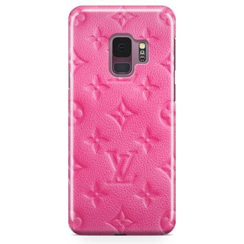 Louise Vuitton Monogram Rose Samsung Galaxy S9 Plus Case | Casefantasy