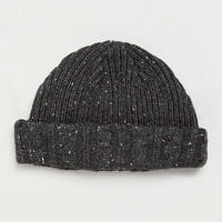 Charcoal Neppy Beanie - Men's Winter Accessories - Shoes and Accessories