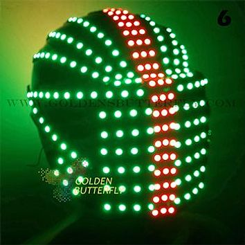 LED Marquee Glowing Helmets (10 Styles)