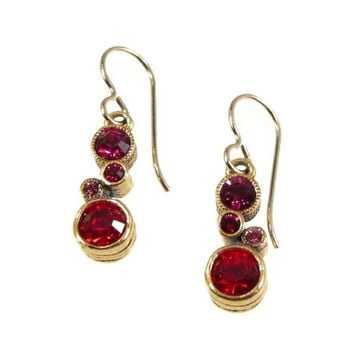 Patricia Locke Jewelry - Cassie Earrings in Poppy