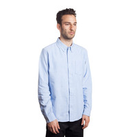 HUF - CRESTED L/S OXFORD // BLUE