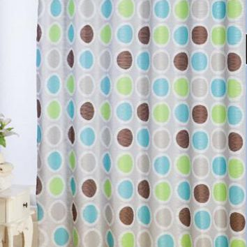 Girasol Jacquard Fabric Shower Curtain