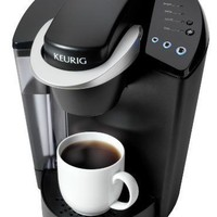 Keurig K45 Elite Single Cup Home Brewing System with Bonus 12 K-cups and Water