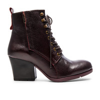Matisse Abbey Bootie in Wine