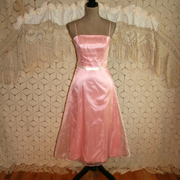Shop 80s Bridesmaid Dress On Wanelo