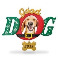 Good Dog 2018 Photo Ornament