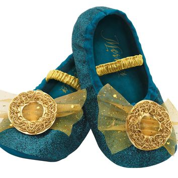 Merida Toddler Slippers for Halloween 2017