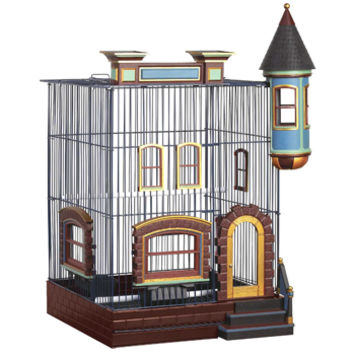 Prevue Hendryx FeatherStone Heights Brownstone Bird Cage