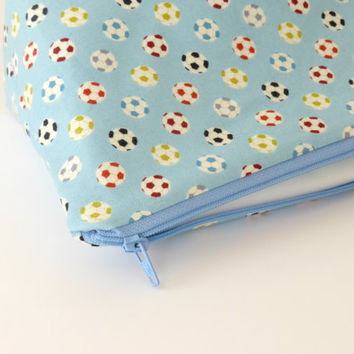Football themed Boys Wash Bag / Toiletry Bag