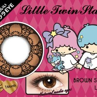 Little Twin Stars Color Contact Lenses Brown