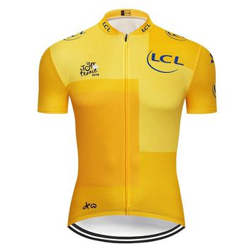 2018 Tour de France Cycling Jersey Mtb Bicycle Clothing Bike Wear Clothes Men Short Maillot Roupa Ropa De Ciclismo Hombre Verano