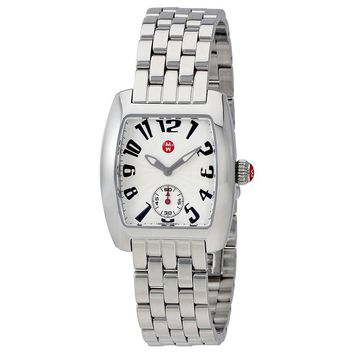 Michele Urban Mini Silver Dial Ladies Watch MWW02A000602