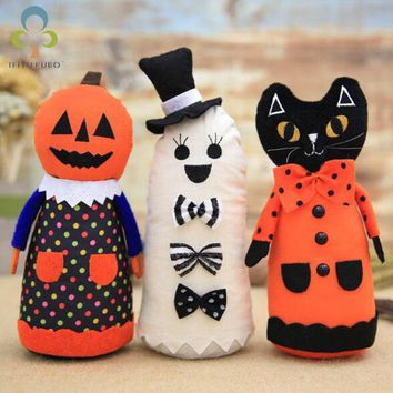 Halloween Decoration Pumpkin Doll Party Items Halloween Funny Toys Holiday home decorations LYQ