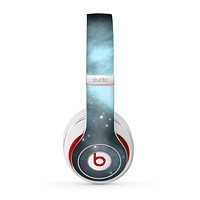 The Light & Dark Blue Space Skin for the Beats by Dre Studio (2013+ Version) Headphones