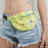 Avenue Dee Abstract Geo Print Fanny Pack
