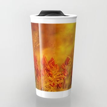 Autumn Wonder Travel Mug by Theresa Campbell D'August Art