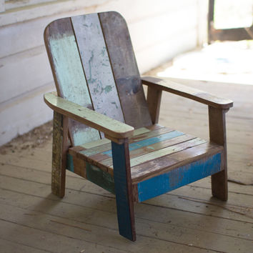 Recycled Teak Mini Lounger