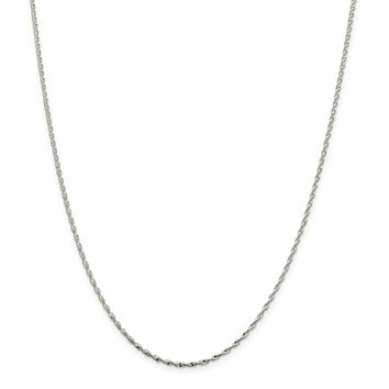 925 Sterling Silver 1.65mm Twisted Herringbone Chain Necklace, Bracelet or Anklet