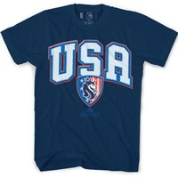 "Men's ""USA 2014"" Tee by OG Abel (Navy)"