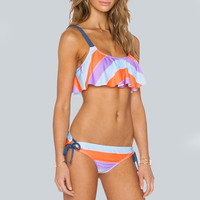 Print Floral Bathing Suit Swimsuit Swimwear Beachwear Bikini
