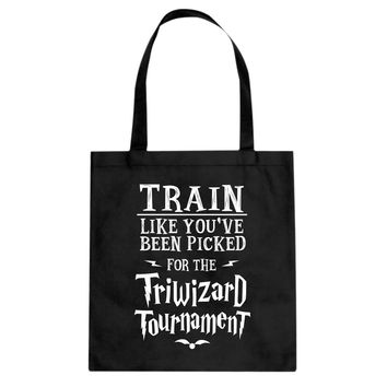 Tote Train for Triwizard Tournament Canvas Tote Bag