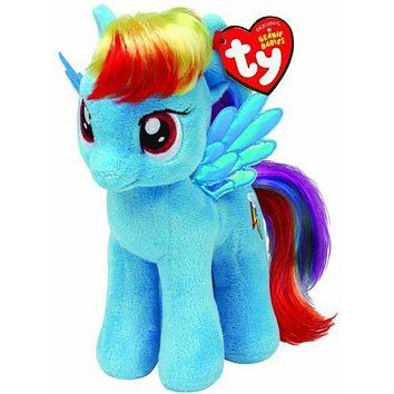"Rainbow Dash Ty My Little Pony 8"" Plush MLP"