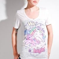 Women's My Little Pony Tee (Antique) | Junk Food - 80's Purple