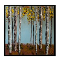 """Trees Canva without frame -  34"""" x 34"""""""