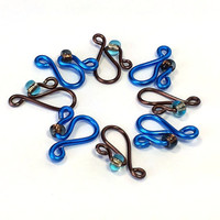 Small Row Counters // Snag Free Stitch Markers // Knitting Needle Size US 6