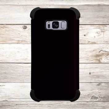 Solid Color Jet Black for Apple iPhone, Samsung Galaxy, and Google Pixel