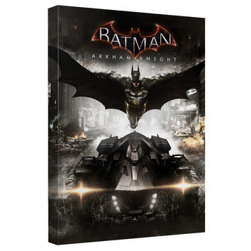 Batman Arkham Knight Poster Stretched Canvas Wall Art