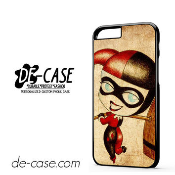 Harley Quinn And Joker Art Couple Case Device 2 DEAL-5070 Apple Phonecase Cover For Iphone 6 / 6S