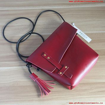 New Retro vintage handmade custom leather shoulder bag