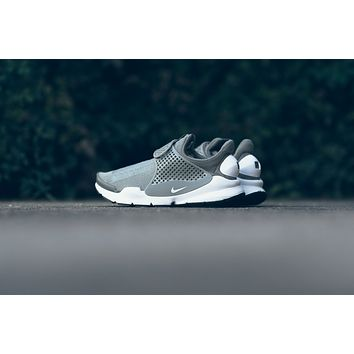 AA SPBEST WMNS Nike Sock Dart - Dark Stucco/White/Black