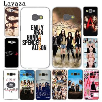 Lavaza Pretty Little Liars Lucy Hale Phone Case for Samsung Galaxy A3 A5 2015 2016 2017 A6 A8 Plus 2018 Note 9 8 Grand Prime