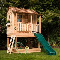6 x 6 Little Squirt Playhouse | www.hayneedle.com