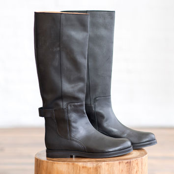 MM6 by Maison Martin Margiela Riding Boots