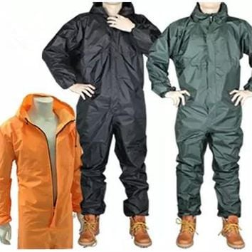 Fashion motorcycle raincoat Conjoined raincoat overalls men and women fission rain suit rain coat