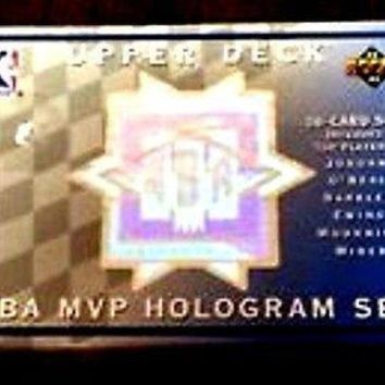 1992-1993 UPPER DECK HOLOGRAM SET-MICHAEL JORDAN,BARKLEY,ISIAH THOMAS,KEMP,ONEAL