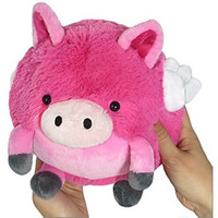 Squishable Mini Flying Pig 7""