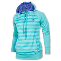 Women's adidas Ultimate Fleece Striped Hoodie