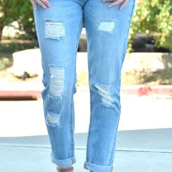 Always And Forever Boyfriend Jeans