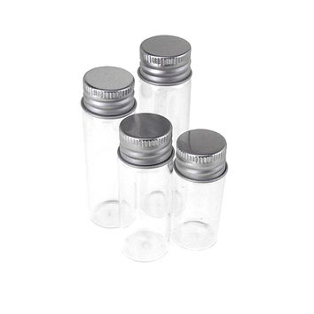 Assorted Miniature Glass Jars, 4-Piece