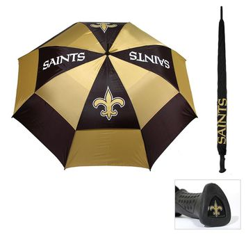 New Orleans Saints NFL 62 double canopy umbrella