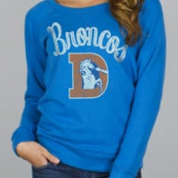 NFL Denver Broncos Field Goal Fleece w/ Embroidery -  - Junk Food Clothing
