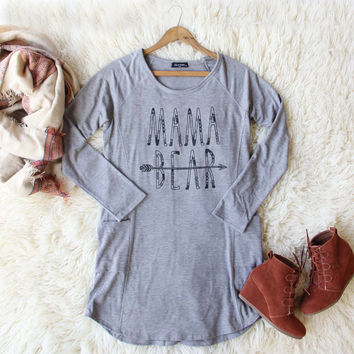Mama Bear Cozy Dress