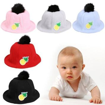 LMF78W Cute Baby Sun Hat Unisex Boys Girls Hats Cap Newborn Photography Props Hats Children Cap Kids Beach Caps for Summer Autumn
